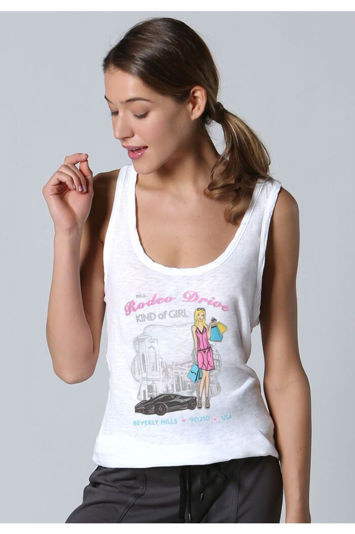 Rodeo Drive Girl Tank Top